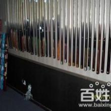 供应深圳桌球台厂家销售各款高档桌球台配件如杆盒球杆台呢灯罩批发
