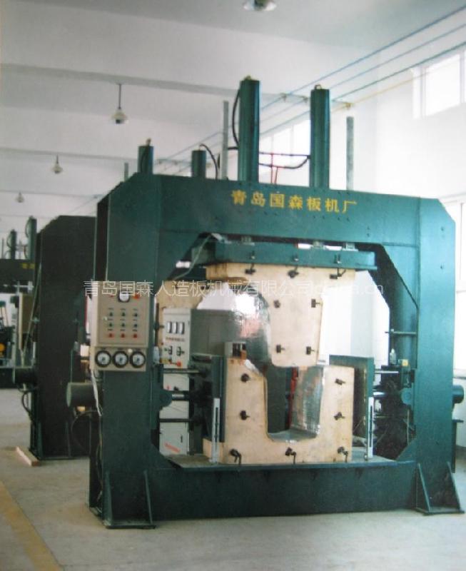 热压机图片 热压机样板图 胶合板热压机 青岛国森机械有限...