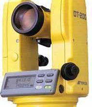 拓普康DT-205电子经纬仪批发