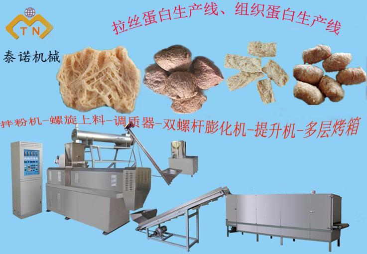 供应新型食品机械设备、拉丝蛋白、组织蛋白生产设备效益高