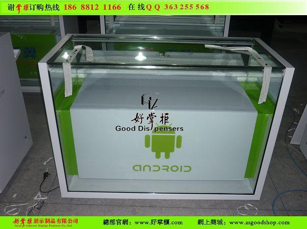 供应定制安卓柜台厂家安卓手机柜