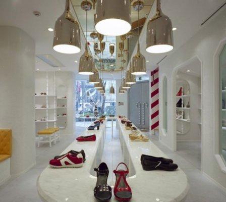 店装图片|店装样板图|成都鞋店设计成都鞋店装修
