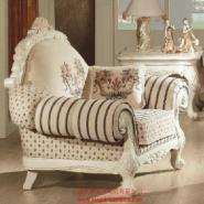新古典单人沙发图片