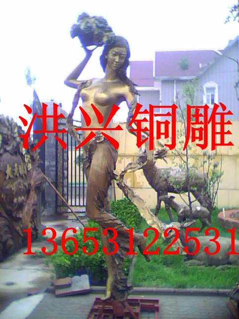 ...人物雕塑凸显创意,人物雕塑图片   人物雕塑图片   洪兴铜雕...