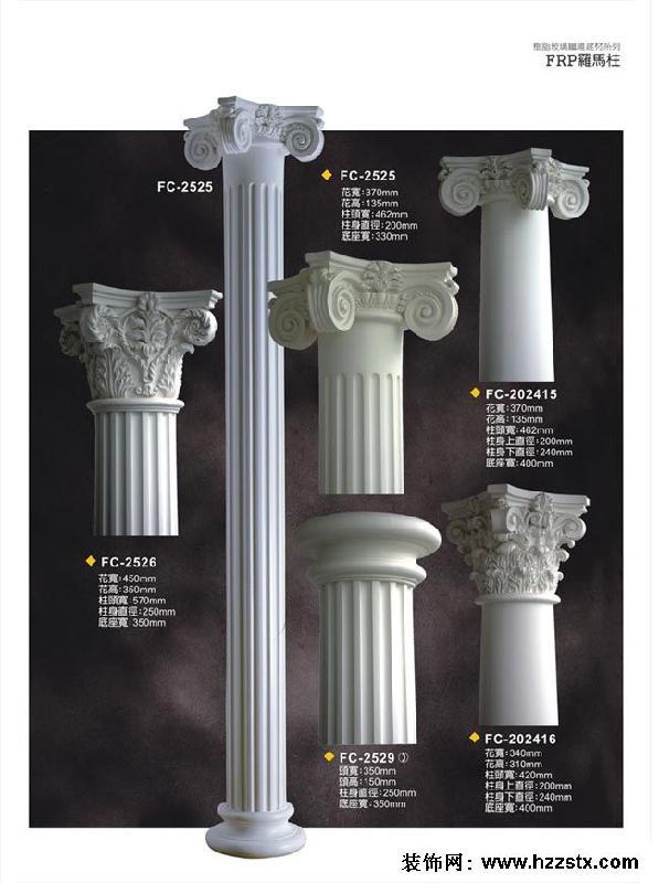 温州精诚雕塑艺术生产供应温州欧式罗马柱厂家图片