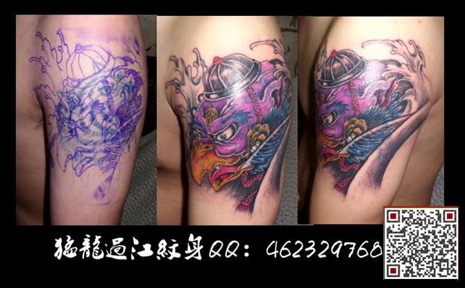 驱除纹身 猛龙过江纹身馆我们专业为你设计属于你