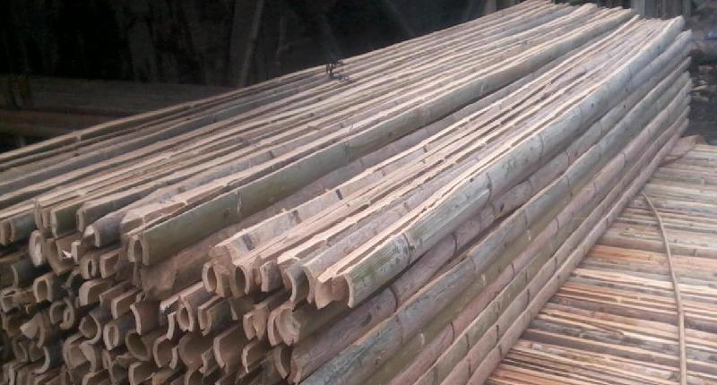 供应用于建筑的养殖场用竹跳板,广西竹跳板,广西建筑脚手架用竹,广西大棚竹片,竹条厂家
