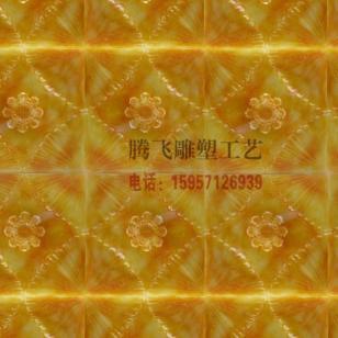 人造玉石背景墙图片
