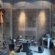 人造滴水石背景墙生产厂家图片
