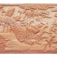砂岩浮雕销售白鸟朝凤图图片