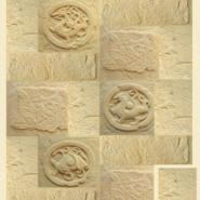 高档砂岩背景墙图片