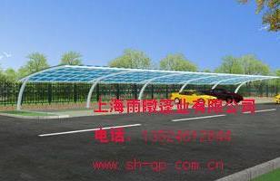 阳光板车棚车棚图生产图片