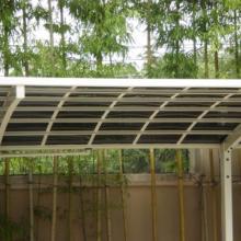 供应无锡铝合金车棚图供应铝合金车棚,自行车棚,铝合金天窗,玻璃雨批发