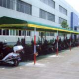 供应上海自行车棚帆布自行车棚,自行车棚价格,自行车棚 制作