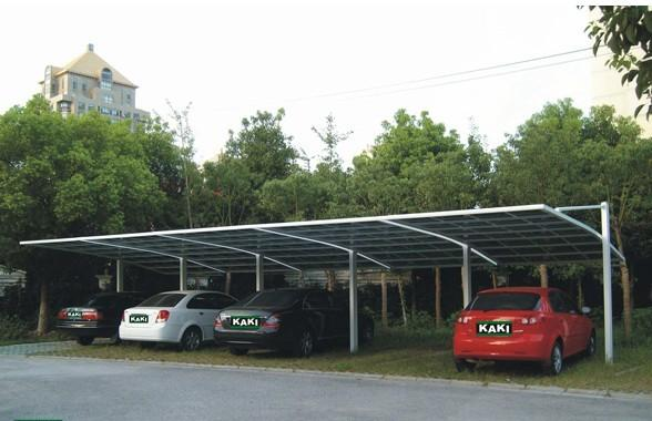 韧性好,强度高上海专业自行车车棚铝合金车棚雨棚 特价铝合金车棚图