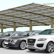 供应车蓬雨蓬 铝合金自行车棚 制作自行车棚,停车场设备,交通运输批发