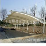 江浙沪车棚厂家,雨篷车棚 遮阳棚 膜结构车棚 价格低质量好 膜结