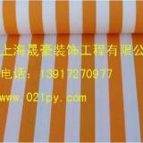 供应苏州车棚布加工彩条布/遮阳布/雨篷布/广告布 喷绘布可印刷