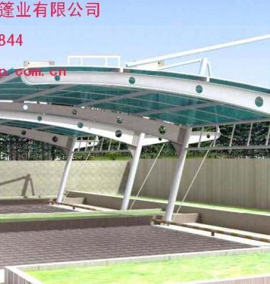 阳光板车棚图片/阳光板车棚样板图 (1)