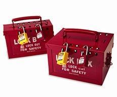 贝迪便携式金属挂锁箱65699销售