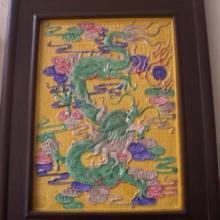供应订制雕塑瓷板画书法陶瓷瓷板画瓷器瓷板画13979889711