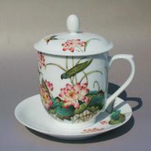 供应陶瓷瓷器茶杯杯子办公用杯定做供应