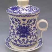 陶瓷杯子茶杯定做加工陶瓷办公杯图片