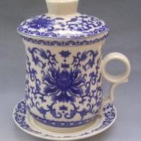 供应批发陶瓷礼品杯陶瓷生肖杯陶瓷盖碗厂家定做加工订制陶瓷茶杯福利杯