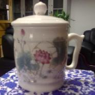 陶瓷瓷器杯子茶杯员工福利杯生产图片