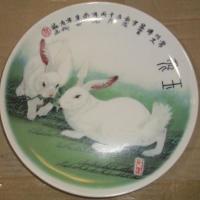 供应经销瓷器陶瓷礼品活动纪念品产品定做订制加工景德镇瓷盘瓷板画工艺品