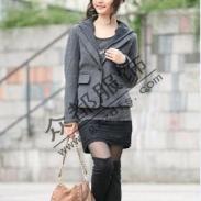时尚棉衣年轻气质风衣便宜批发广州图片