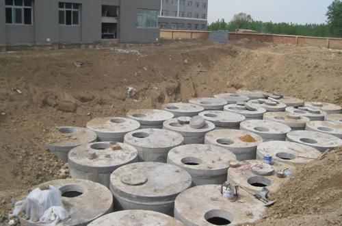 宿州市混凝土化粪池蒙城预制化粪池 图