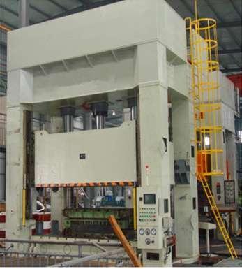 四柱液压机供应商/生产供应四柱液压机锻造液压机-胜图片