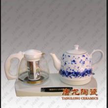 供应陶瓷手绘茶具中国红工艺品陶瓷茶具定做礼品陶瓷茶具图片