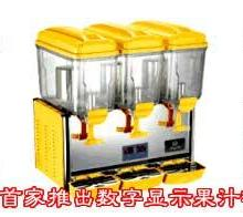供应山东三缸果汁机果汁机价格冰之乐冷饮机