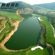 丽水高尔夫球场航拍图片