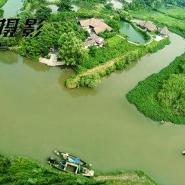 衢州高尔夫球场航拍图片