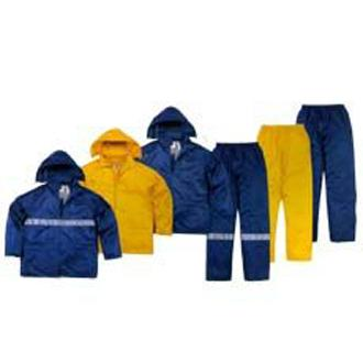 供应代尔塔聚酰胺雨衣套装