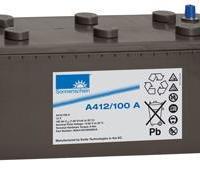 供应阳光胶体铅酸免维护电池A412/120A代理商