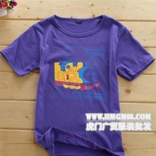 便宜质量好点的T恤批发厂家直销服图片