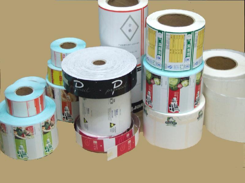 供应印刷卷筒不干胶