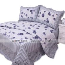 供应三件套 四件套 床品套件 欧式流行风格 平纹空调被 纯棉被褥