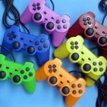 供应PS2有线游戏手柄,双马达,力回馈!PS2有线游戏手柄双马达批发