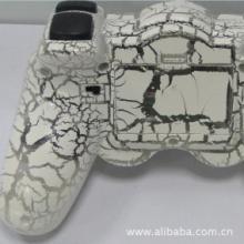 供应PS2无线裂纹手柄尤溪周边游戏配件批发