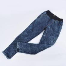 义乌牛仔裤现货供应批发考拉绒全针织棉双层加绒加厚紧身女牛仔裤义乌