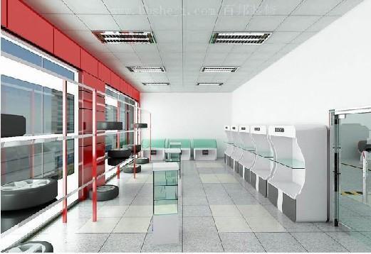 汽车车店装修 现代简约 260平米其它装修设计 高清图片