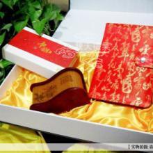 供应庆典礼品会议礼品中国红瓷笔套装红瓷U盘套装红木名片盒套装