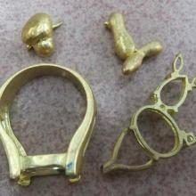 供应压铸铜工艺品 压铸铜件 压铸铜模具 压铸电镀铜饰品批发