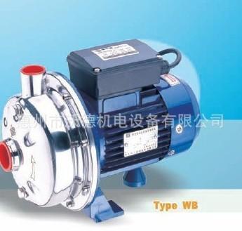 供应WB200/110不锈钢离心泵