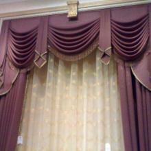 供应电动开合帘遮光布艺窗帘 电动开合帘  电动布艺窗帘